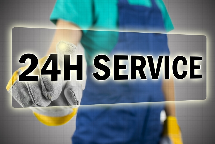 24-Hour Service Technician